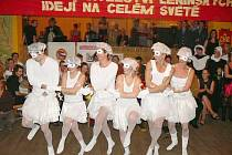 Umělecké provedení baletu Labutí jezero.