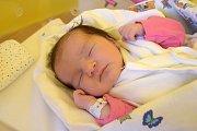 Sára Kubíčková se směje na svět od 25. listopadu, kdy se narodila s porodní mírou 50 cm a váhou 3,40 kg. S maminkou Martinou Dušátkovou a tatínkem Stanislavem Kubíčkem bydlí v Jičíně.