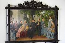 Suchardův obraz z novopackého muzea.