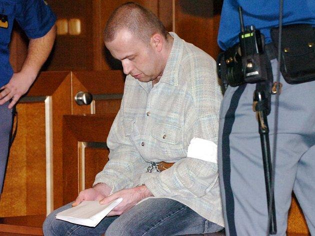 Petr Zelenka u soudu.