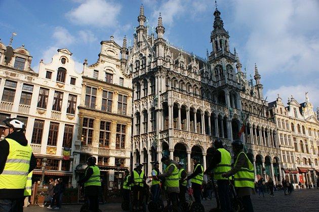Z výletu do Bruselu.