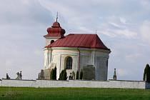 Kaple sv. Marka v Cholenicích.