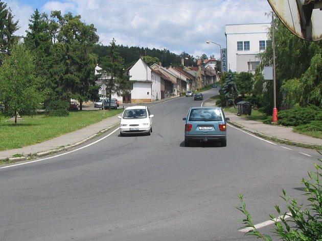 Hořická Maixnerova ulice.