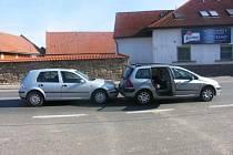 Z dopravní nehody v Konecchlumí.