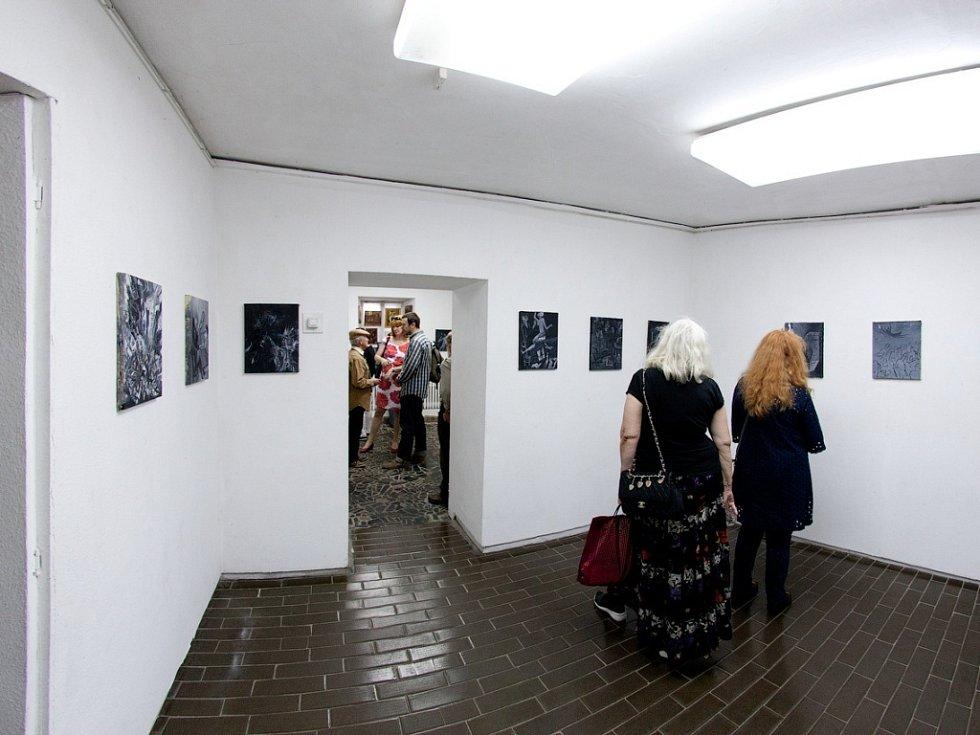 Z výstavy Michaila Ščigola v Kyjevě.