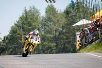 Hořický motocyklový závodník Marek Zima.