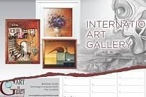 Kalendář International Art Gallery.