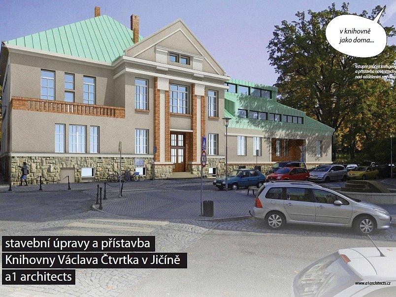 V jičínské knihovně je plánována rekonstrukce.