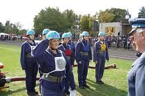 Valdické hasičky při jedné ze soutěží.