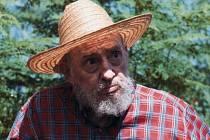 Fidel Castro, říjen 2012.