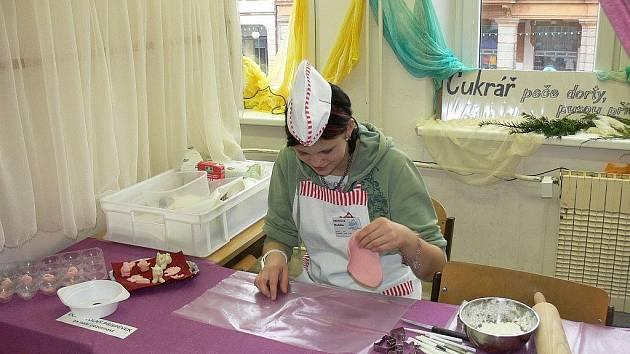 Letos již po desáté uspořádala Střední škola gastronomie a služeb Vánoční  trhy.