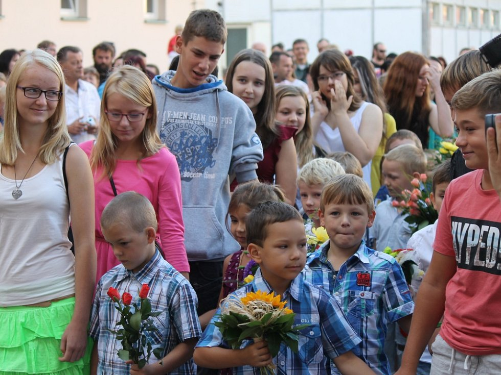 Bělohradskou školu navštívil Václav Klaus.