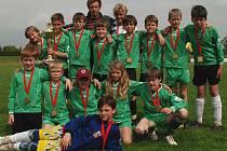 Bělohradský vítězný tým z McDonald´s Cupu.
