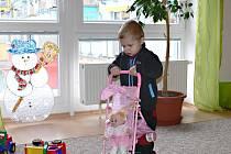 Zařízení v ulici Pod Koželuhy je určeno dětem ve věku od dvou do tří let.