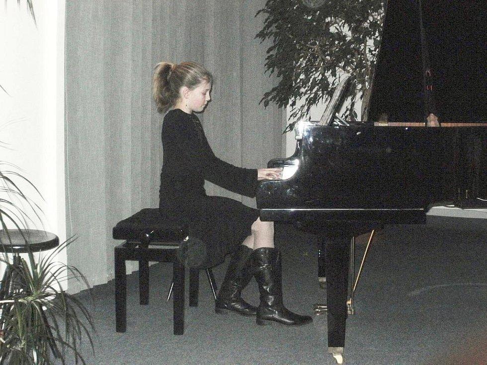 Koncert žáků novopacké ZUŠ.