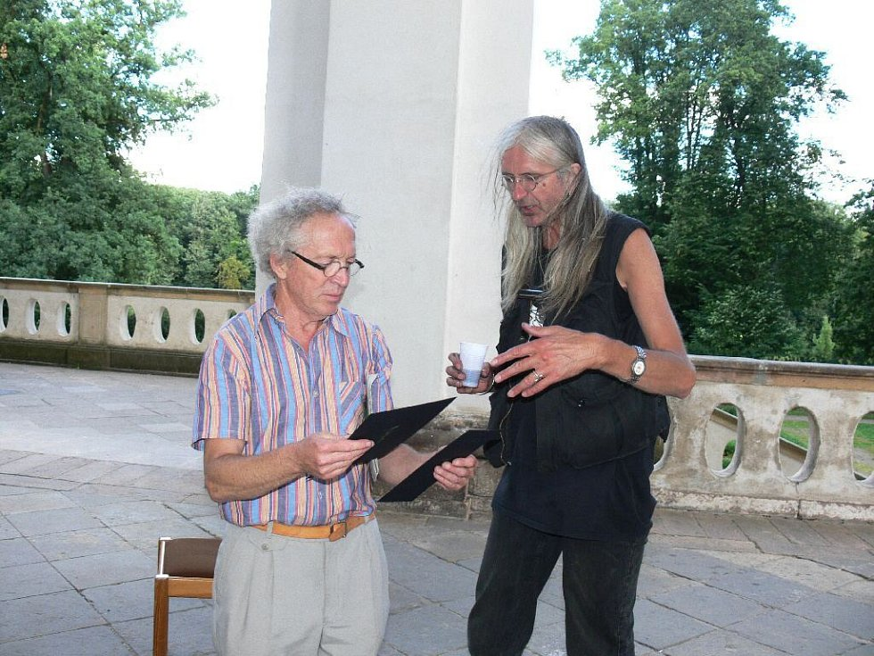 Michail Ščigol a Bobem Hochmanem.