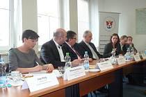 Pilotní setkání zástupců ministerstev.