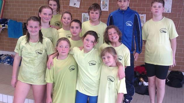 Spokojená výprava mladých jičínských plavců, na 15. ročníku Poháru Jiráskova kraje byla opět vidět.