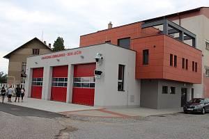 V pondělí bude veřejnosti představena nová zbrojnice jičínských dobrovolných hasičů.