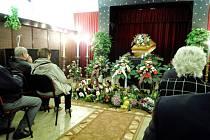 Pohřeb Jindřicha Rychtery.