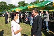Z bukvických oslav získání titulu Vesnice roku 2008.