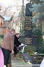 Erbenův hrob na Olšanských hřbitovech v Praze.