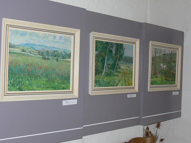 Galerie obrazů Františka Kavána v Libuni.