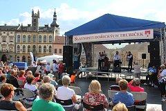 Program pro celou rodinu se odehrával po celý den v centru Hořic.