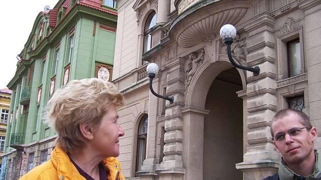 Budova jičínské sokolovny - Masarykova divadla