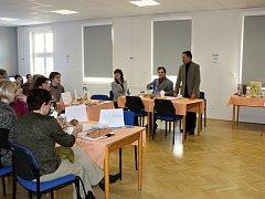 Žákovský parlament - ze zahájení projektu v bělohradské škole.