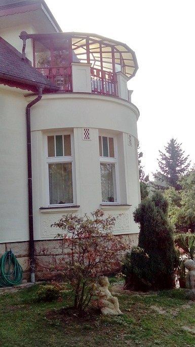 Hořická Flečkova vila.