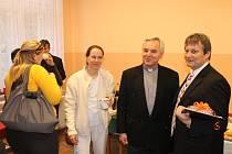 Ze slavnostního otevření centra hospicové péče.