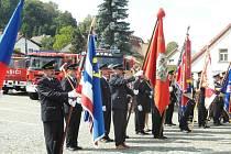 Z oslav peckovských hasičů.