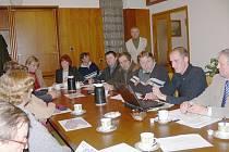 Jednání v Kopidlně o dopravní obslužnosti.