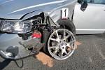 Dopravní nehoda v Ostroměři komplikovala provoz na hlavním tahu z Jičína na Hradec Králové.