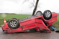 Skokanská salta přežil řidič bez úhony