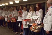 Eliška Nýdrlová získala zlato na Gastru 2013.