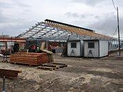 Intenzivní stavební práce na rekonstrukci cvičného školního statku, jediného v kraji, se daly do pohybu v prosinci minulého roku.