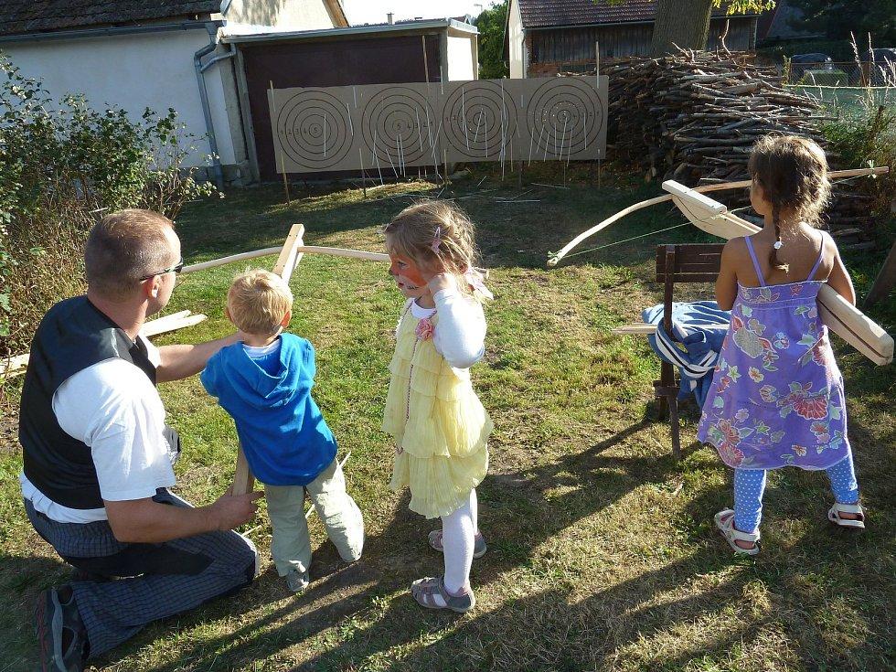 Slunečný den plný zábavy si užily všechny generace.