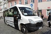 Z prezentace autobusů firma BusLine Semily.