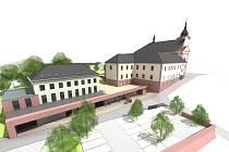 Letos bude zahájena přestavba paulánského novopackého kláštera na dům sociálních služeb a komunitní centrum.