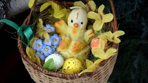 Vyzdobená obydlí už připomínají Velikonoce