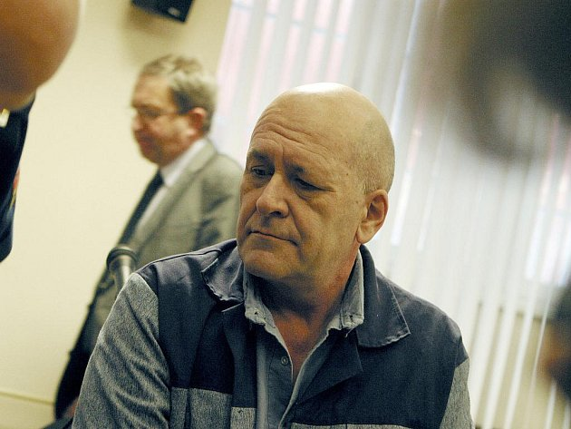Recidivista Karel Bednář.