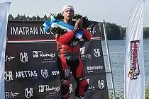 Obhájce titulu IRRC Marek Červený  ve finské Imatře, kde ovládl oba závody třídy Supersport.