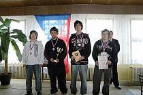 Mladí šachisté z hořické Daliborky.