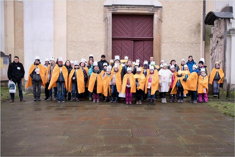 Šikovným dobrovolníkům se v Hořicích podařilo vybrat 78 tisíc korun.