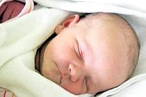 KLÁRA KMÍNKOVÁ se na maminku Kateřinu Kmínkovou poprvé usmála 16. dubna. Narodila se s váhou 3,53 kg a mírou 50 cm. Svoje první děťátko si maminka odveze do Nové Paky.