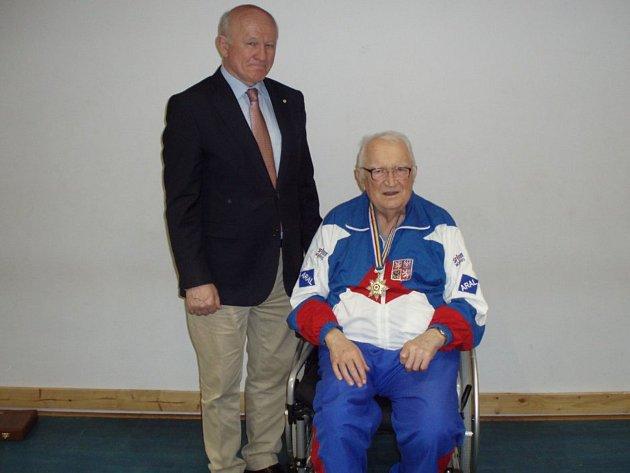 Michal Vachun (vlevo) a Josef Letošník.