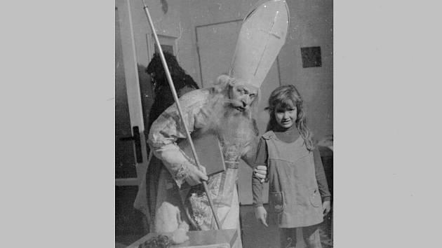 Mikuláš dne 5. prosince 1970.