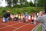 Olympiáda mateřských škol Novopacka.